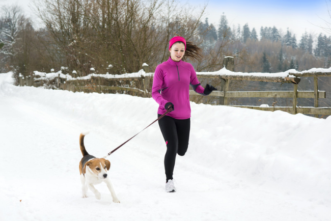 how to run in the cold